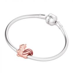 Lovely Squirrel Charm Sterling Silver