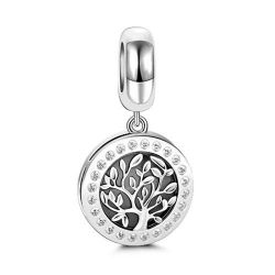 Follow Your Dreams Family Tree Pendant Sterling Silver